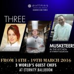 The Three Musketeers in the kitchen at Pullman Bangkok King Power