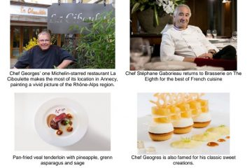 Michelin-starred Chefs Prepares Degustation Dinner For Le French GourMay at Brasserie on the Eighth