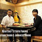 Senior Director & Head Chef Tetsuya Fukuda