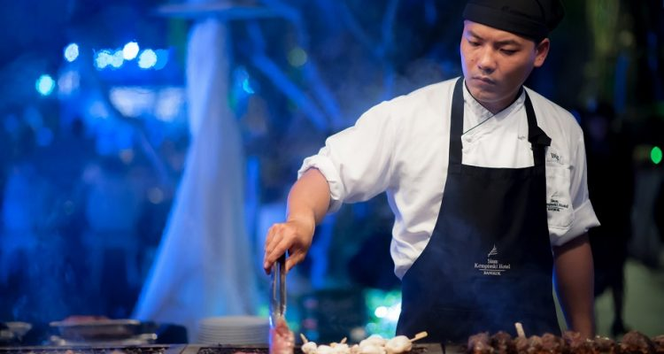 Seafood and Meat BBQ Grill at Brasserie Europa