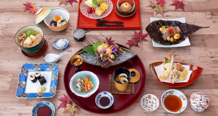 Special Autumn Gozen Lunch and Kaiseki Dinner at Yamazato Restaurant