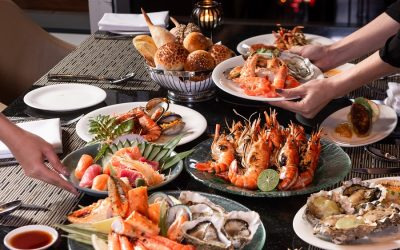 Friday & Saturday Night Seafood Buffet at Up & Above Restaurant