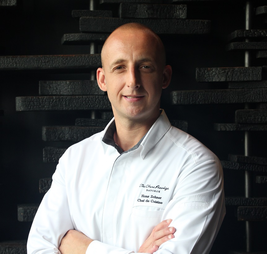 The Okura Prestige Bangkok has the pleasure of announcing the appointment of Hans Zahner as the new Chef de Cuisine at its Michelin-starred Elements Restaurant, effective 15 July 2019.