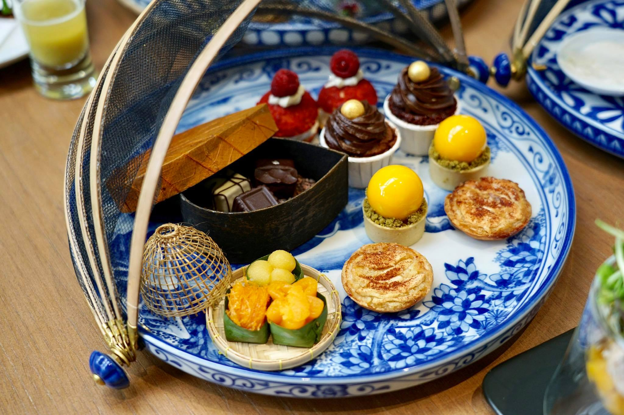 Guilt-free Afternoon Tea at Rim Klong Cafe